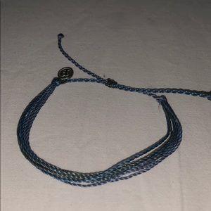 Black and blue pura vida bracelet